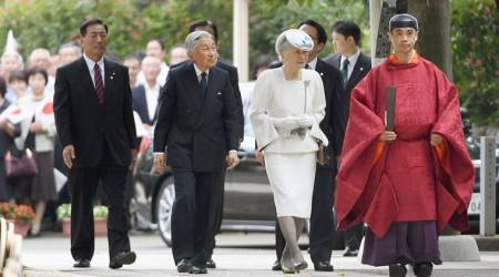 Japan's emperor visits shrine for ancient Korean settlers