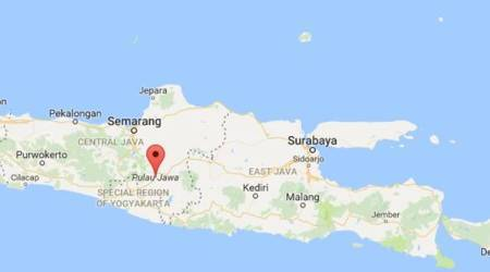 Earthquake with 5.7 magnitude strikes Indonesia-USGS