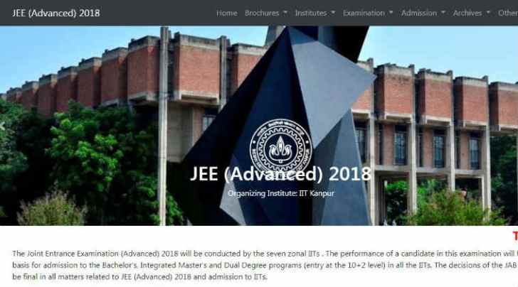 jee advanced, jee adv, jee advanced 2018