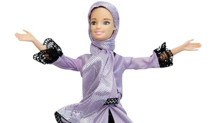barbie doll, jenna barbie doll, mother makes barbie doll, barbie doll reading Quran verses, Indian express, Indian express news