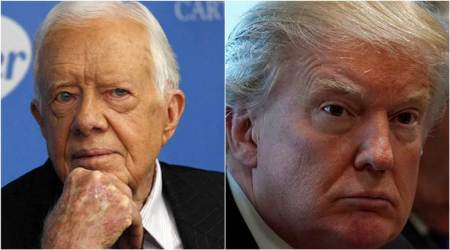 Jimmy Carter to Donald Trump: 'Keep the peace..tell the truth'