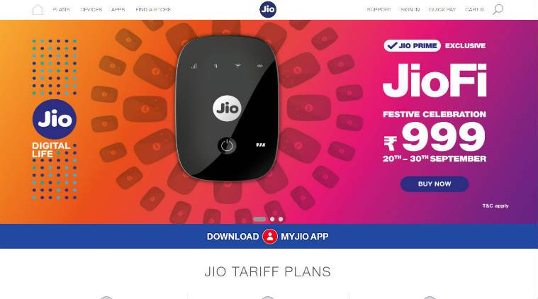 JioFi Hotspot Dongle has Reduced from Rs 1999 to Rs 999