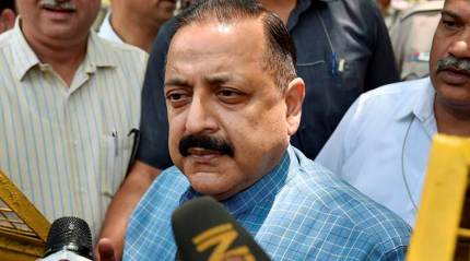 Unlike Congress, BJP doesn't interfere in working of the Election Commission, says Jitendra Singh
