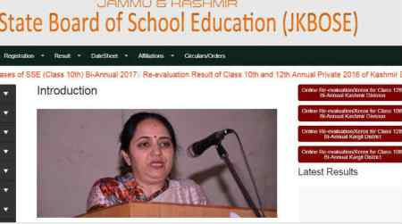 JKBOSE 12th bi-annual plus 2 Jammu division results 2017 declared, check at jkbose.co.in