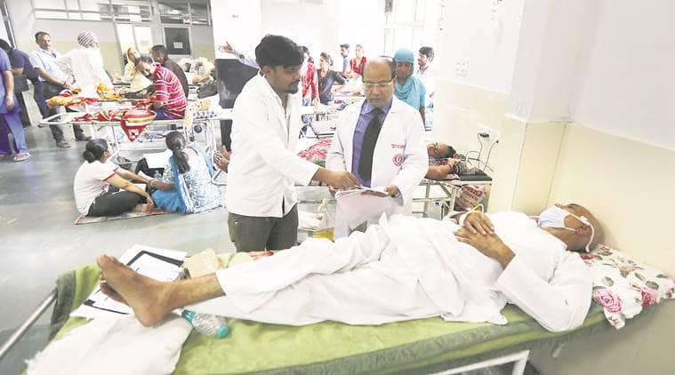 GMCH  Hospital, GMCH Chandigarh, PGIMER, Rajnath Singh, Kirron Kher , Chandigarh news, Indian Express News