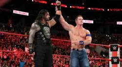 wwe no mercy, john cena, roman reigns, john cena retire, john cena vs roman reigns, wwe no mercy results, wwe news, sports news, indian express
