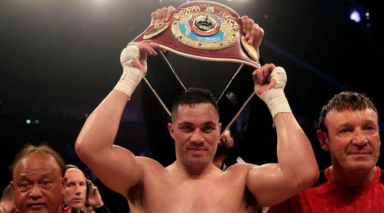 Joshua next? Kiwi retains WBO heavyweight title