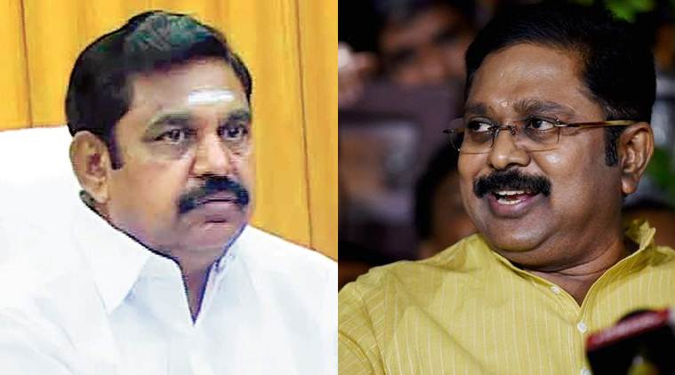 K Palaniswami, CM K Palaniswami, CM K Palaniswami takes dip in Cauvery, TTV Dhinakaran, O S Manian, India news, National news, latest news, India news