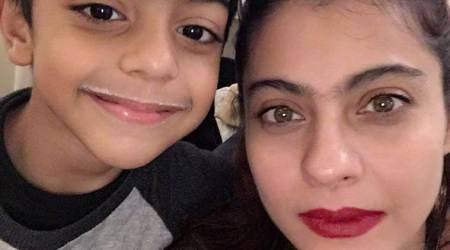 Kajol's adorable picture on son Yug Devgn's 7th birthday is the cutest thing you will see today