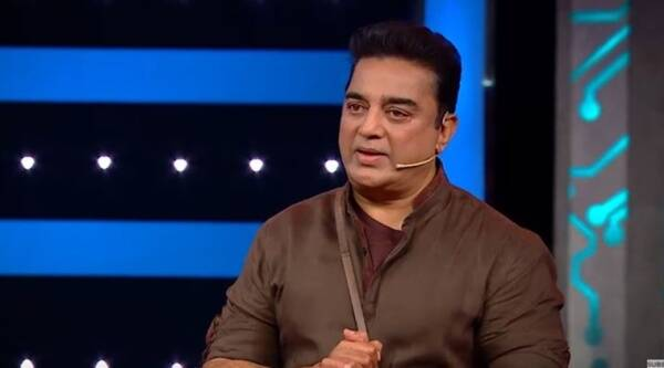 Image result for kamal hasan at telugu bigboss house