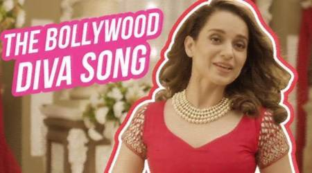 The digs that Kangana Ranaut took at Hindi film industry in The Bollywood Diva Song are not to be missed