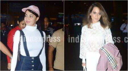 Kangana Ranaut and Jacqueline Fernandez give us travel style goals in these cooloutfits