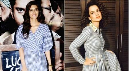 Kangana Ranaut or Kriti Sanon: Who wore the gingham print dress better?