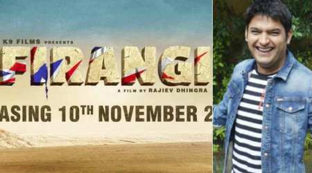 First teaser poster of Kapil Sharma's film Firangi released