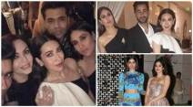 Kareena kapoor, karisma kapoor, Ambani's dinner party, Ambani's dinner party photos, Inside pics of Ambani party, Jhanvi Kapoor, karan johar