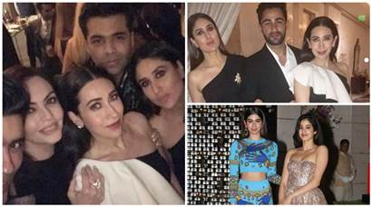 Highlights of Ambani's dinner party which saw Kareena, Karisma Kapoor, Jhanvi Kapoor and many come together