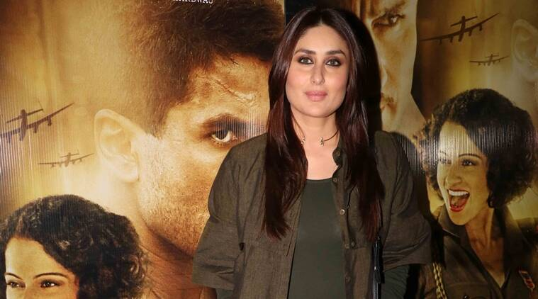 Something is. Necked pictures of kareena