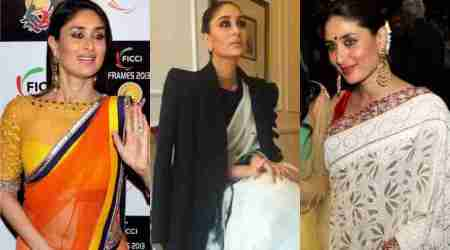 Happy birthday, Kareena Kapoor Khan: 10 memorable sari looks of the celeb over the years