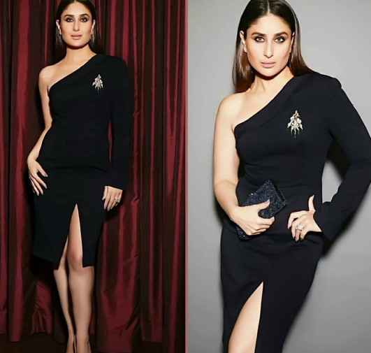 Image result for Kareena Kapoor Khan, Karisma Kapoor twin in black at Ambani bash