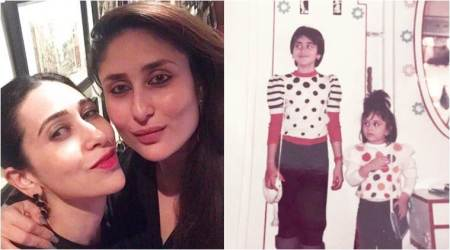 Karisma Kapoor pulls a throwback Thursday while wishing sister Kareena Kapoor on her 37th birthday
