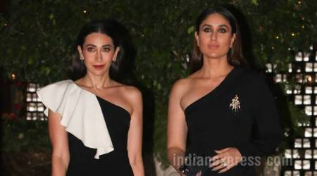 Kareena Kapoor Khan, Karisma Kapoor twin in black at Ambani bash, and how