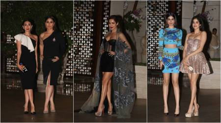 Karisma, Kareena, Malaika, Jhanvi: Celebs who stole the show at the Ambani bash