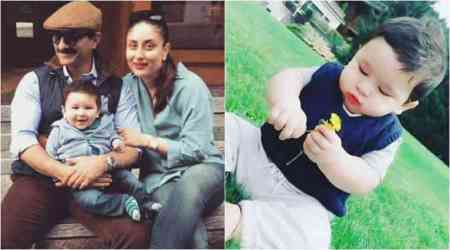 Kareena Kapoor's baby boy Taimur Ali Khan is an inquisitive kid. This photo is proof