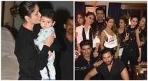 Kareena Kapoor Khan, taimiur ali khan, Kareena birthday party photos, Kareena birthday party inside photos