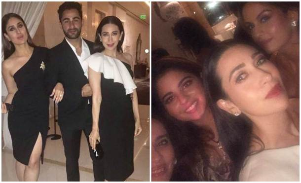 Kareena kapoor, karisma kapoor, Ambani's dinner party, Ambani's dinner party photos