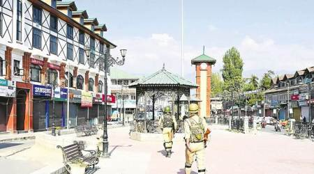 kashmir shutdown, srinagar shutdown, nia, national investigation agency, kashmir traders federations, j&k, kashmir latest news, indian express