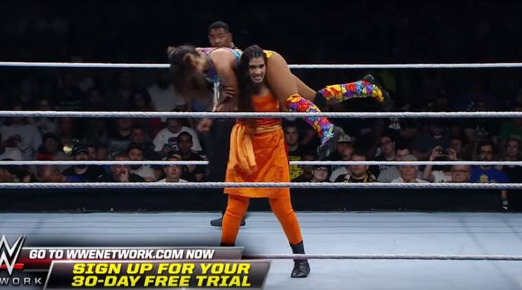 Meet the Indian WWE wrestler in Salwar-Kameez!!