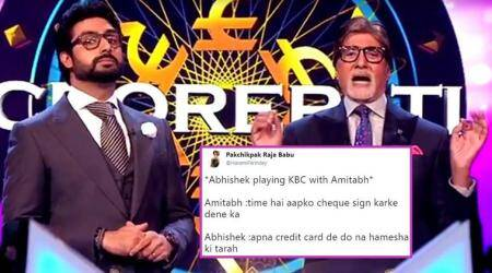 Amitabh Bachchan is back with KBC 9, and Twitter's having fun with 'Lock Kar Diya Jaye' jokes