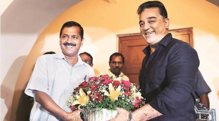 We are like-minded, will seek advice, says Kamal Haasan after meeting with Arvind Kejriwal