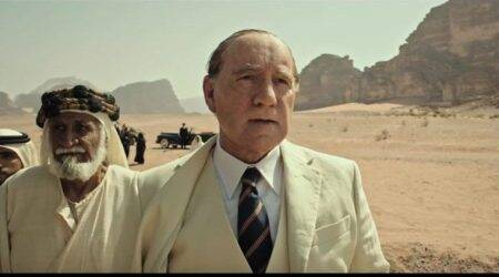 Kevin Spacey in a never before seen avatar in Ridley Scott's All the Money in the World