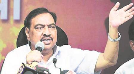 Got threat from Pakistan to drop cases against Eknath Khadse, says activist