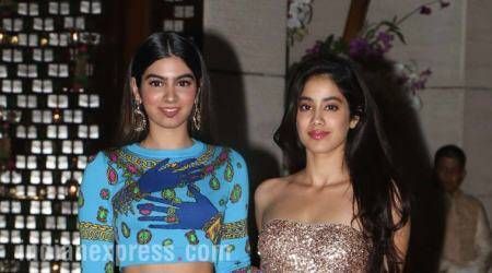 Khushi and Jhanvi Kapoor's trendy style at Ambani bash will give you #siblingstylegoals