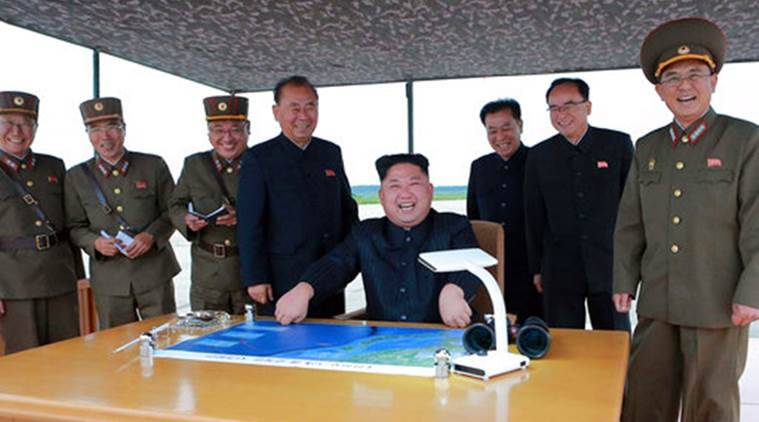 North Korea, North Korean leader Kim Jong Un, Kim Jong Un, hydrogen bomb missile warhead, hydrogen bomb, world news, latest world news, indian express, indian express news
