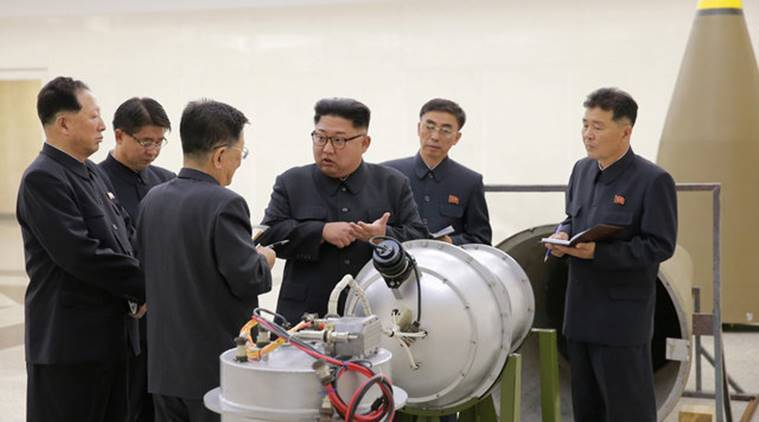 North Korea claims to have loaded a hydrogen bomb into a missile