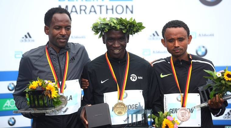 Eliud Kipchoge wins Berlin marathon, misses world record