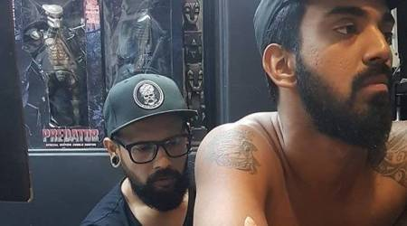 KL Rahul gets new tattoo of his 'lionking'