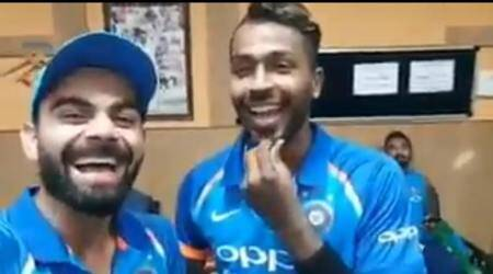 Virat Kohli hails 'Man of the moment' Hardik Pandya for all-round show against Australia; watch video