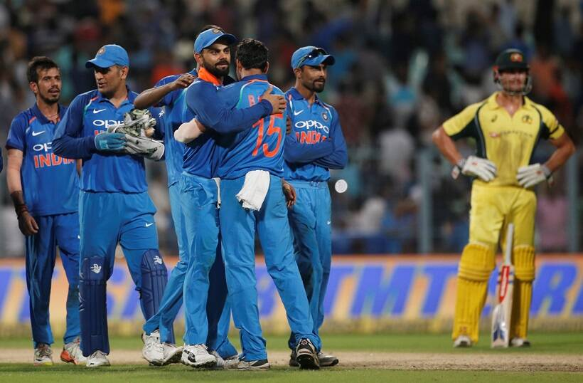 Image result for india vs australia 2nd odi