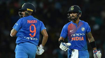 Virat Kohli, Manish Pandey, India vs Sri Lanka, Ind vs SL, India tour of Sri Lanka 2017, Cricket news, Indian Express
