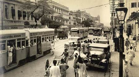 When US soldiers got caught in the traffic of Calcutta