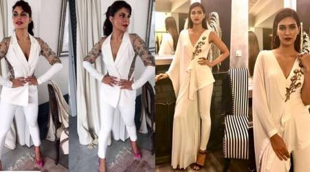 Kriti Sanon and Jacqueline Fernandez show us different ways to wear white; see pics