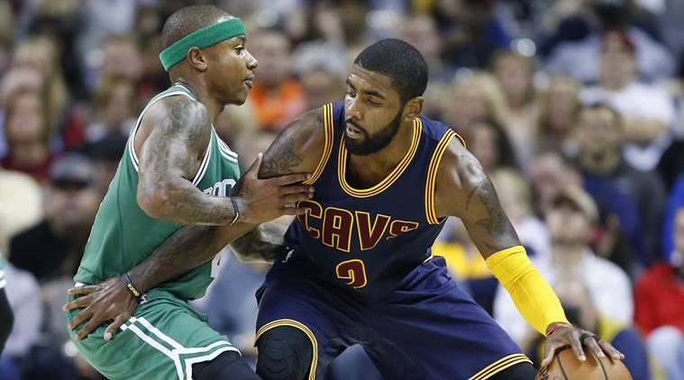 Celtics add 2nd-round pick to complete trade for Kyrie Irving