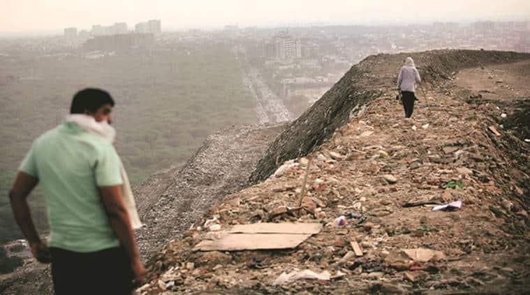 Landfills, pollution control board, urban landfills, garbage, waste, India news, Indian Express