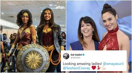 Gal Gadot, Patty Jenkins shut online trolls who ridiculed two Sri Lankan women dressed as Wonder Woman
