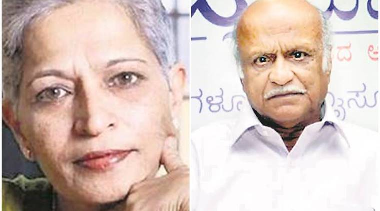 Gauri Lankesh, Kalburgi killed with same gun? Probe suggests so