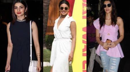 Priyanka Chopra latest pictures, Kriti Sanon latest pictures, Prachi Desai latest pictures, airport looks, celebrity fashion, indian express, indian express news